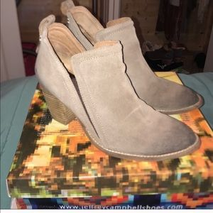Jeffery Campbell Brown Booties